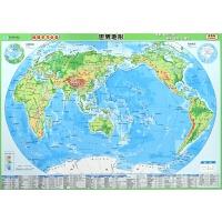 世界地形(地形政区2合1速查版)