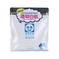 【网易考拉】石泽研究所 透明白肌豆乳保湿美白面膜 10片/包