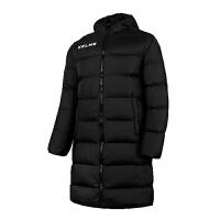 KELME卡尔美K15P001 男式足球运动羽绒服 中长款保暖运动外套 休闲宽松连帽大衣