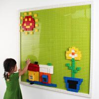 积木墙壁大颗粒积木底板拼装建构玩具