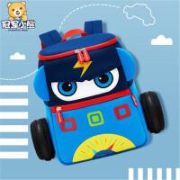 幼儿园书包男孩宝宝背包3-5岁潮汽车儿童书包轻便小童包包女小班