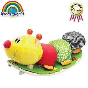 [当当自营]泰国Wonderworld 摇摆毛毛虫 趣味摇椅 玩偶 摇椅木马礼物