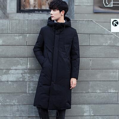 男士羽绒服男中长款过膝长款大衣7冬装韩版加厚修身青年潮外套 一般在付款后3-90天左右发货,具体发货时间请以与客服协商的时间为准