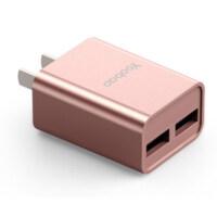 【包邮】羽博2.1A充电器 双USB口多口快充充电器 3C认证 小米6/6x/5/5x/5splus 红米6pro/6
