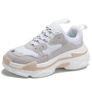 O'SHELL欧希尔新品063-1769休闲网布平底女士休闲鞋