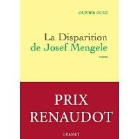 【法语原版】约瑟夫・门格勒的失踪(2017年勒诺多文学奖)La disparition de Josef Mengel