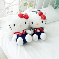 【全店支持礼品卡】正版Holle Kitty海军凯蒂猫情侣公仔毛绒娃娃生日礼物