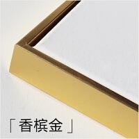 免装裱油画框空白布框棉麻混纺成品外框实木内框尺寸可定做