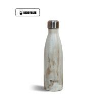 【当当自营】杯具熊(BEDDYBEAR) 双层不锈钢真空可乐瓶运动时尚户外车载男女水壶 直身随手保温杯500ml 金发木可乐杯