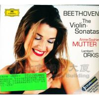 新华书店原装正版古典音乐  457 619-2BEETHOVEN 穆特*专辑:贝多芬小提琴奏鸣曲全集 CD