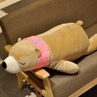 毛绒玩具送女友大号趴趴抱抱熊娃娃公仔可爱睡觉抱枕女孩生 抖音