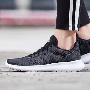 adidas阿迪达斯女子跑步鞋2018新款透气轻便休闲运动鞋BC0131
