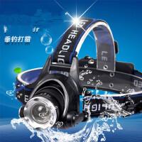 变焦头灯户外强光头灯充电 照明LED钓鱼灯矿灯伸缩变焦调焦车灯 支持礼品卡支付