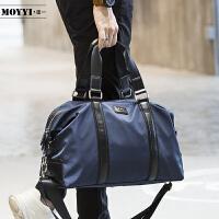 手提包男士大容量单肩斜挎包韩版休闲尼龙斜跨男包旅行包防水