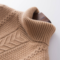 新款秋冬羊绒衫女高领套头麻花打底毛衫 保暖养毛衣女针织衫
