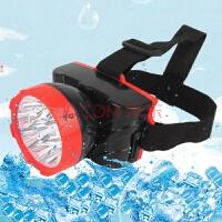 充电式头灯探照灯头戴灯 应急灯户外灯钓鱼矿灯 强光远射灯