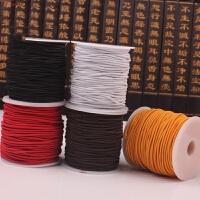 网球皮筋球弹力绳 单人网球橡皮筋训练网球线绳子自练网球绳高弹力4米6米选择HW 0.8mm红色/每卷 约50米