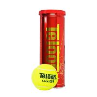 天龙Teloon网球 高弹性气压足比赛训练用球 LUX Q1 3粒装