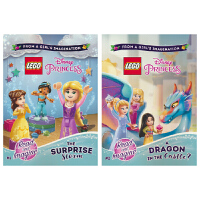 Lego Disney Princess The Surprise Storm A dragon in the cas