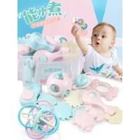 婴儿手摇铃玩具牙胶益智0-3-6-12个月宝宝1岁幼儿新生5男女孩8