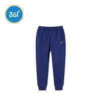 【2件3折到手价:59.7】361度男童装男童针织加厚保暖长裤2018冬季新品 N51842565