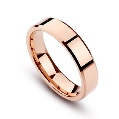 素戒指情侣一对彩金食指环女镀18K玫瑰金时尚大气男结婚对戒 玫瑰金 女戒不清楚号码 发货周期:一般在付款后2-90天左右发货,具体发货时间请以与客服协商的时间为准