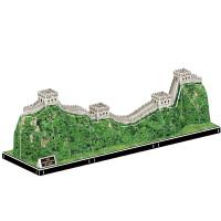 长城MC167拼装玩具儿童3D立体拼图纸质模型建筑