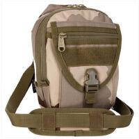 时尚插扣包包小背包迷彩包旅行包休闲户外战术单肩包斜跨背包男女运动包小包