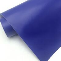 鱼缸背景纸单色贴纸画高清黑白蓝色自带胶自粘贴水族箱背景壁纸 深蓝 1米x1米