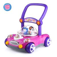 宝宝婴儿学步车手推车儿童带灯光可调速音乐助步玩具6/7-18月1oo