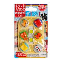 IWAKO ER-BRI040 岩泽趣味橡皮 儿童卡通可爱橡皮创意文具 .回转寿司当当自营