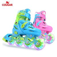 溜冰鞋男女旱冰轮滑鞋直排轮初学者儿童全套装3-5-6-8-10岁