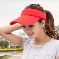 空顶帽女夏户外运动防晒无顶网球鸭舌帽棒球帽旅行帽子