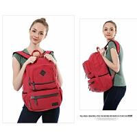 双肩包帆布旅行背包登山包旅游双肩包大背包电脑包休闲包
