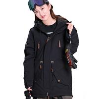 滑雪服防水透气男女双板单板滑雪上衣户外燕尾服保暖加厚