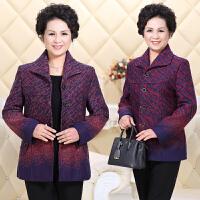 老年女装外套50-60-70岁老人衣服春季奶奶装春秋长袖上衣妈妈装