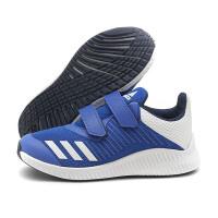 阿迪达斯童鞋男童魔术贴网面透气跑步鞋儿童运动鞋