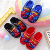 儿童棉拖鞋中大童冬季防滑厚底保暖居家室内拖鞋潮
