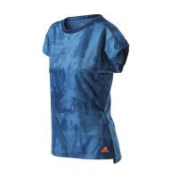 adidas阿迪达斯女装短袖T恤2018年新款网球运动服S98971