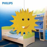 飞利浦吊灯创意儿童房卡通卧室吊灯现代简约灯具灯饰笑嘻嘻QPG313
