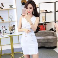 2018夏季新款裙子白领OL夜店性感女装韩版修身显瘦时尚气质连衣裙