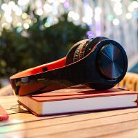 Liweek 无线蓝牙耳机 头戴式 重低音 运动 音乐 插卡游戏4.0耳麦 手机电脑通用 苹果 三星 华为 小米 op