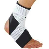 LP欧比弹性束带缠绕式护踝728 踝部绑带加压套筒足球运动护具 单只