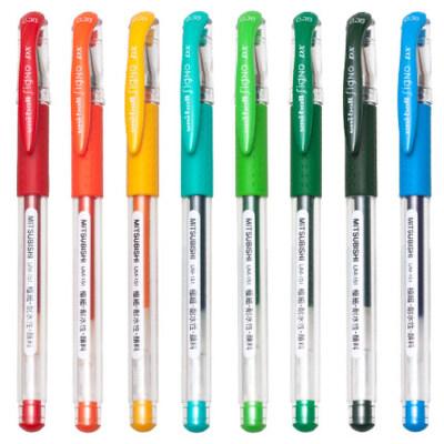 日本三菱uniball中性笔0.38考试黑笔办公学生用UM-151中性笔/水笔/三菱0.38水笔/0.38 mm 速干走珠针管签字笔