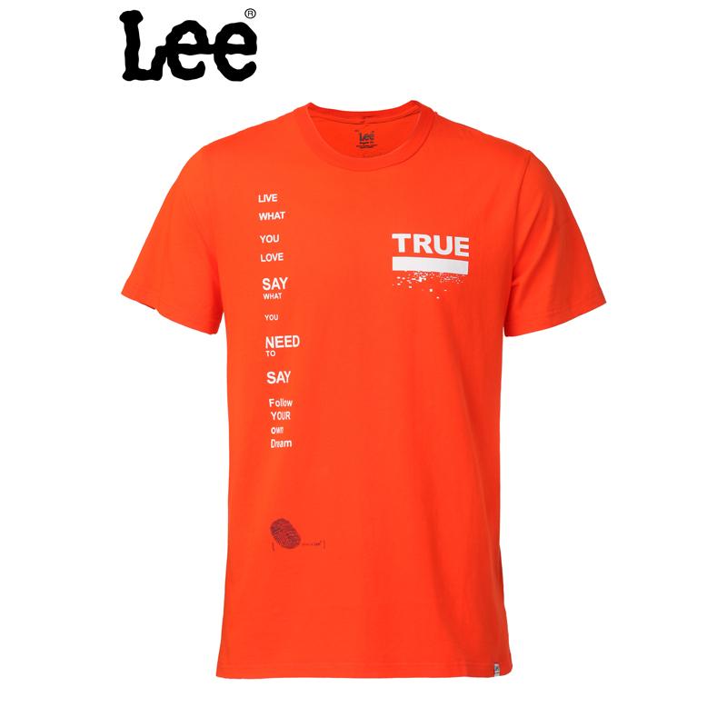 Lee 【断码】男士短袖T恤 休闲圆领 棉质舒适T恤 L15145866AN6
