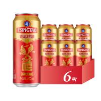 青�u啤酒 �典10度禧罐500ml*6��b