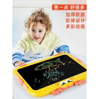 儿童液晶手写板电子写字板宝宝家用涂鸦小黑板磁性涂鸦画画板可擦