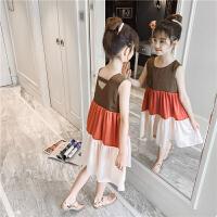 女童连衣裙夏装潮流儿童公主裙夏季女孩雪纺裙子