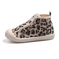 儿童帆布鞋女童小白鞋秋季新款男童板鞋宝宝幼儿园室内布鞋