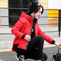 韩观2017秋冬装新款大码女装秋冬季中长款修身棉衣外套1826